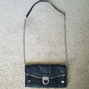 Michael Kors Black Leather Handbag